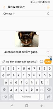 Samsung Galaxy A8 (2018) - MMS - Afbeeldingen verzenden - Stap 20