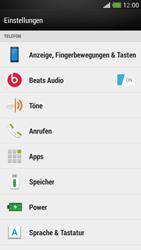 HTC One Mini - Apps - Eine App deinstallieren - Schritt 4