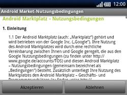 Sony Ericsson Xperia X10 Mini Pro - Apps - Konto anlegen und einrichten - 17 / 19