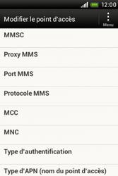 HTC A320e Desire C - MMS - Configuration manuelle - Étape 9