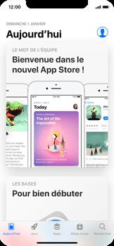 Apple iPhone X - Applications - Comment vérifier les mises à jour des applications - Étape 3