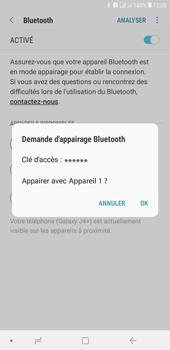 Samsung Galaxy J4+ - Internet et connexion - Connexion avec un équipement multimédia via Bluetooth - Étape 10