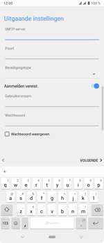 Sony xperia-10-plus-I4123 - E-mail - Account instellen (IMAP met SMTP-verificatie) - Stap 17