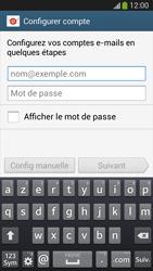 Samsung SM-G3815 Galaxy Express 2 - E-mail - configuration manuelle - Étape 5
