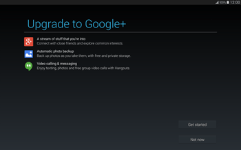 Samsung T805 Galaxy Tab S - Applications - Setting up the application store - Step 20