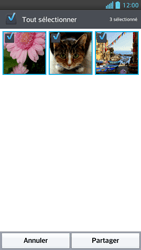 LG Optimus F5 - Photos, vidéos, musique - Envoyer une photo via Bluetooth - Étape 7