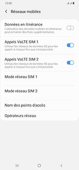 Samsung Galaxy A50 - Réseau - Sélection manuelle du réseau - Étape 6