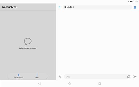 Huawei MediaPad T3 (10.0) LTE - MMS - Erstellen und senden - 2 / 2