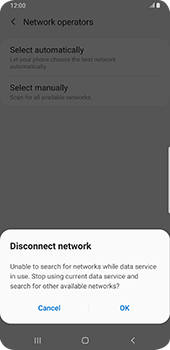 Samsung Galaxy S9 Plus - Android Pie - Network - Manual network selection - Step 8