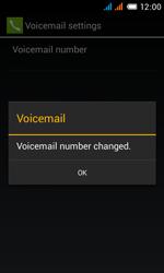 Alcatel OT-4033X Pop C3 - Voicemail - Manual configuration - Step 12