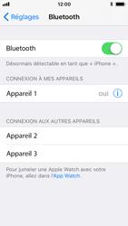 Apple iPhone 5s - iOS 11 - Bluetooth - Jumelage d