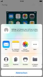 Apple iPhone 6s - iOS 11 - Bildschirmfotos erstellen und sofort bearbeiten - 1 / 1