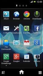 Sony Xperia J - Internet und Datenroaming - Deaktivieren von Datenroaming - Schritt 3