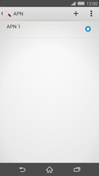 Sony Xperia Z2 - MMS - Configurazione manuale - Fase 7