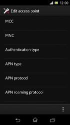 Sony C1905 Xperia M - Internet - Manual configuration - Step 14