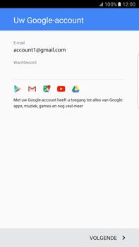 Samsung Samsung Galaxy S6 Edge+ (Android M) - apps - account instellen - stap 16