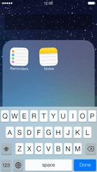 Apple iPhone 5 iOS 7 - Getting started - Personalising your Start screen - Step 6