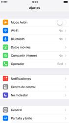 Apple iPhone 6s iOS 10 - Internet - Activar o desactivar la conexión de datos - Paso 3