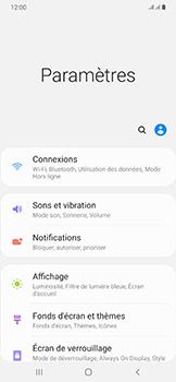 Samsung Galaxy A50 - Internet et roaming de données - Comment vérifier que la connexion des données est activée - Étape 4