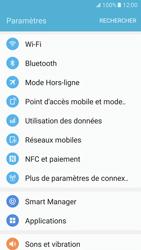 Samsung Galaxy S7 - Internet et connexion - Utiliser le mode modem par USB - Étape 4