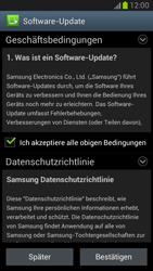 Samsung Galaxy Note II - Software - Installieren von Software-Updates - Schritt 8