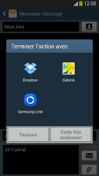 Samsung I9295 Galaxy S IV Active - MMS - envoi d'images - Étape 14