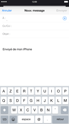 Apple iPhone 6 Plus - E-mail - Envoi d
