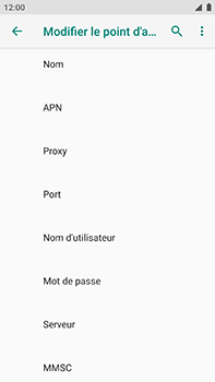 Xiaomi Mi A1 - Internet - Configuration manuelle - Étape 11