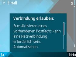 Nokia E71 - E-Mail - Konto einrichten - Schritt 10