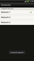 HTC One S - Netzwerk - Manuelle Netzwerkwahl - Schritt 10