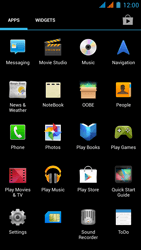 Wiko Rainbow - MMS - Sending pictures - Step 2
