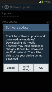 Samsung Galaxy Note III LTE - Software - Installing software updates - Step 9