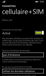 Nokia Lumia 530 - Internet - activer ou désactiver - Étape 5