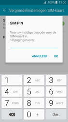 Samsung Galaxy J3 (SM-J320FN) - Beveiliging en ouderlijk toezicht - Hoe wijzig ik mijn SIM PIN-code - Stap 8