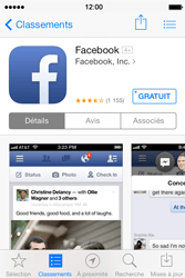 Apple iPhone 4 iOS 7 - Applications - configuration de votre store d