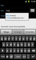 Samsung I8160 Galaxy Ace II - E-mail - e-mail versturen - Stap 5