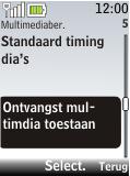 Nokia 2720 fold - MMS - probleem met ontvangen - Stap 8
