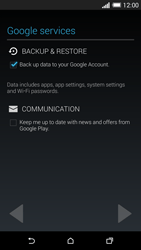 HTC One M8 - Applications - Setting up the application store - Step 13