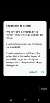 Samsung Galaxy S8+ - Photos, vidéos, musique - Prendre une photo - Étape 4