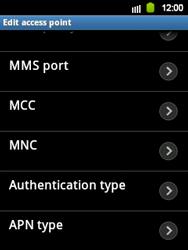 Samsung Galaxy Y - Internet and data roaming - Manual configuration - Step 13
