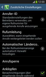 Samsung S7275 Galaxy Ace 3 - Anrufe - Rufumleitungen setzen und löschen - Schritt 7
