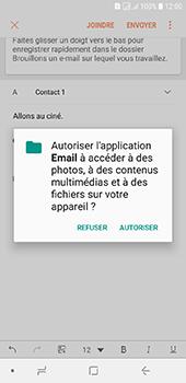 Samsung Galaxy J6 - E-mails - Envoyer un e-mail - Étape 12