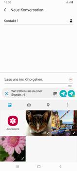 Samsung Galaxy A80 - MMS - Erstellen und senden - Schritt 18