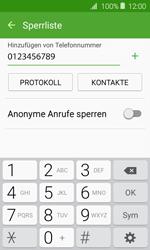 Samsung J120 Galaxy J1 (2016) - Anrufe - Anrufe blockieren - Schritt 10