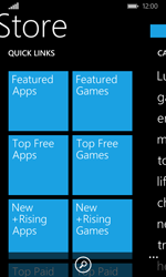 Microsoft Lumia 435 - Applications - Download apps - Step 7
