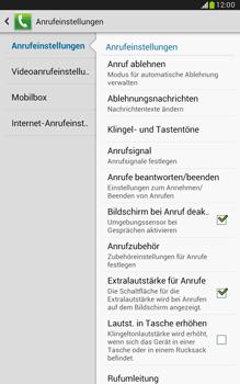 Samsung N5100 Galaxy Note 8-0 - Anrufe - Rufumleitungen setzen und löschen - Schritt 6