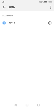 Huawei Mate 10 Pro - Android Pie - MMS - Manuelle Konfiguration - Schritt 6