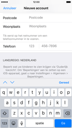 Apple iPhone 6s iOS 10 - Applicaties - Account aanmaken - Stap 22