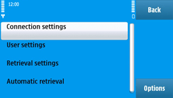 Nokia N97 - E-mail - Manual configuration - Step 23