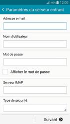 Samsung A500FU Galaxy A5 - E-mail - Configuration manuelle - Étape 9